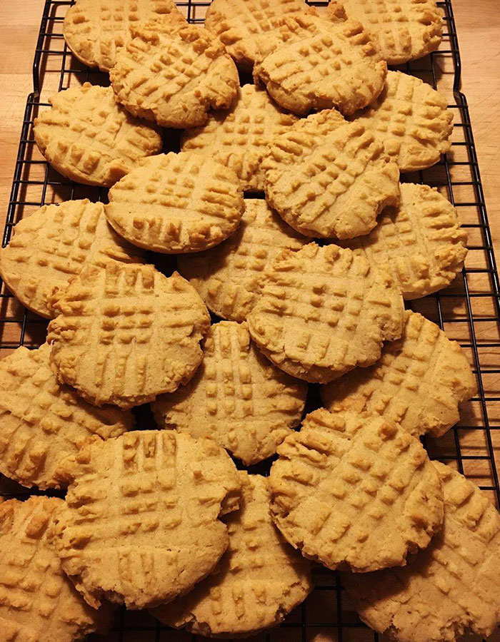 Weight Watchers One Point Peanut Butter cookies